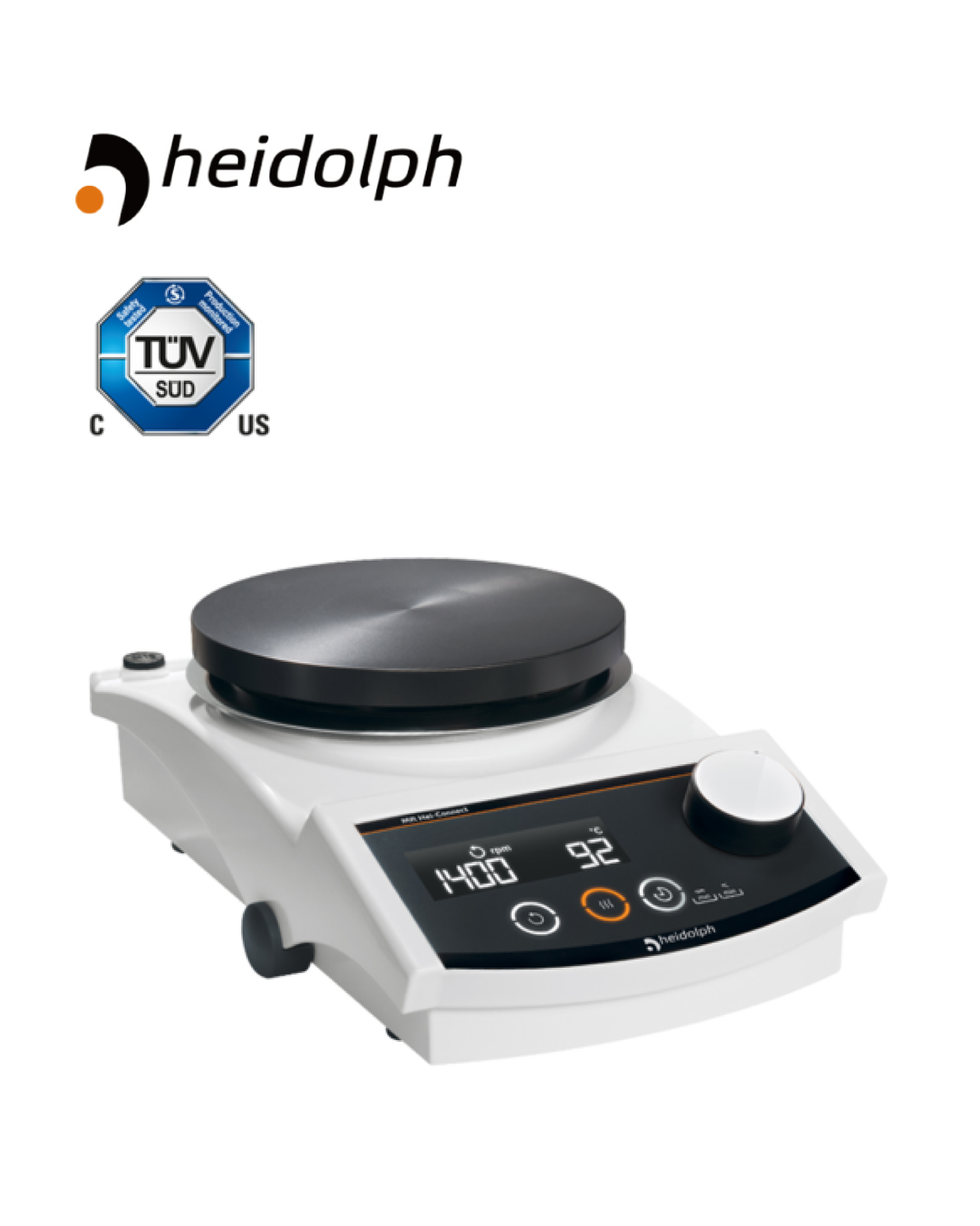 Heidolph - Hei-Connect - Magnetic Stirrer(P/N: 505-40000-00)